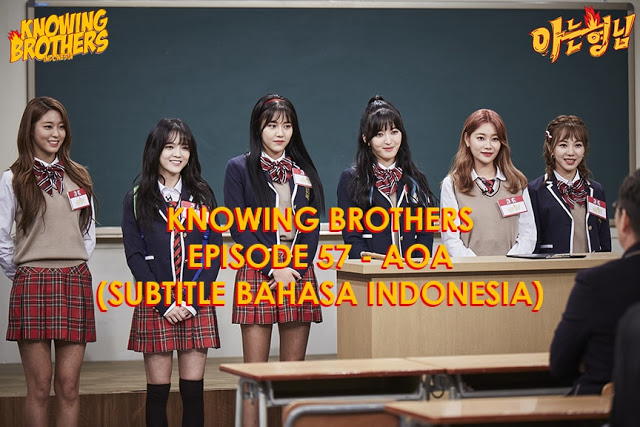Knowing Brothers eps 57 – AOA