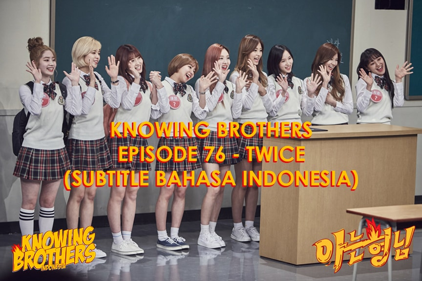 Knowing Brothers eps 76 – Twice